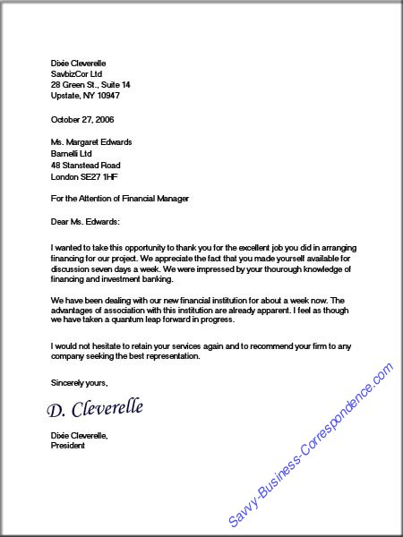 Business Letter Imammulhakimsite